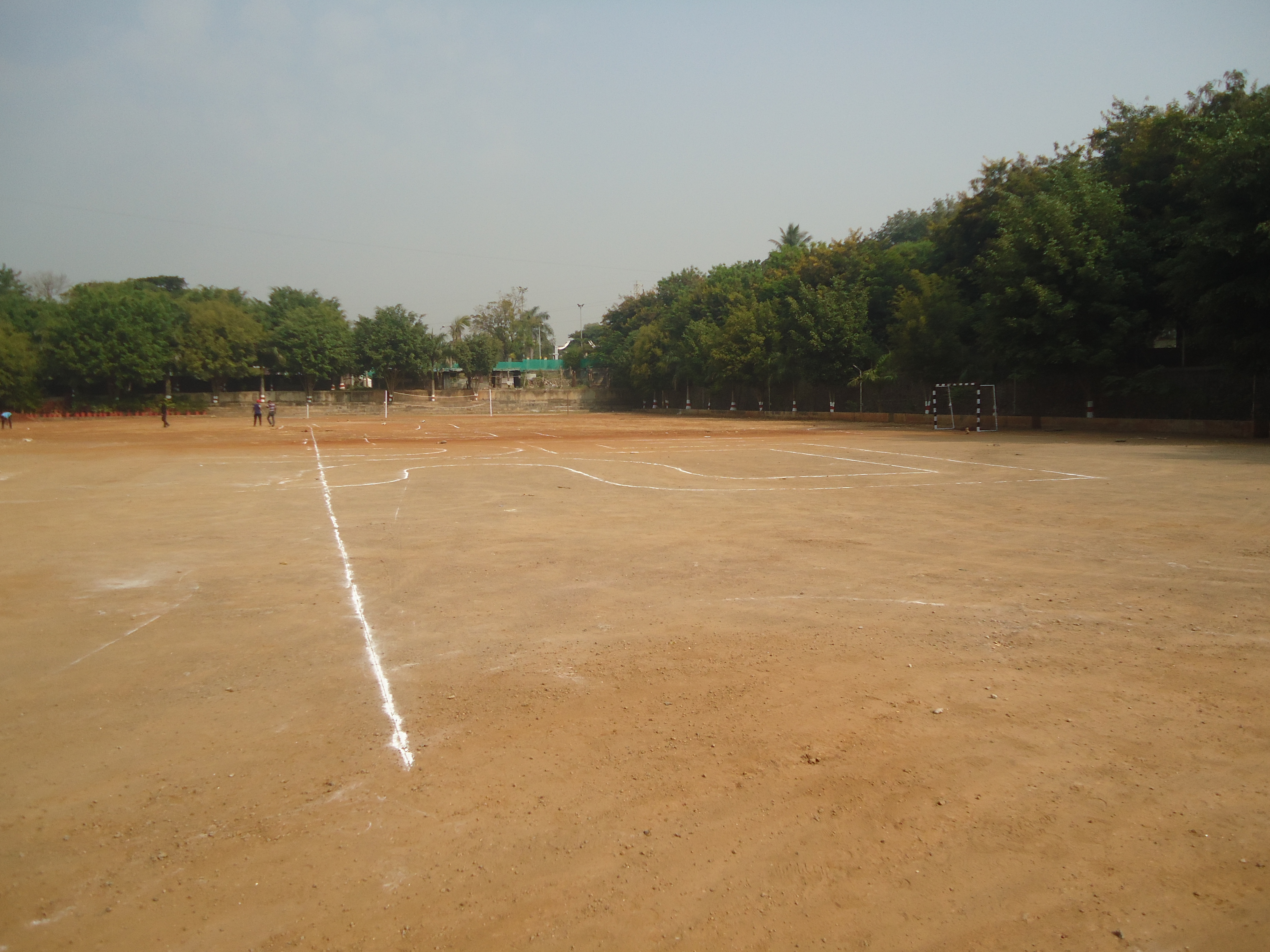 Playground at Pimpri Chinchwad Polytechnic College