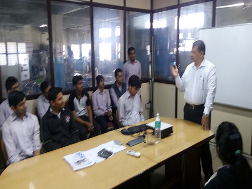 PCP diploma engg college in pune encourages  it's students to excel in his field