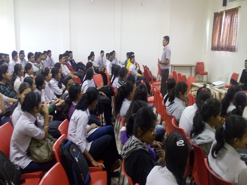 pc polytechnic had conducted ART OF LIVING COURSE for our first year students